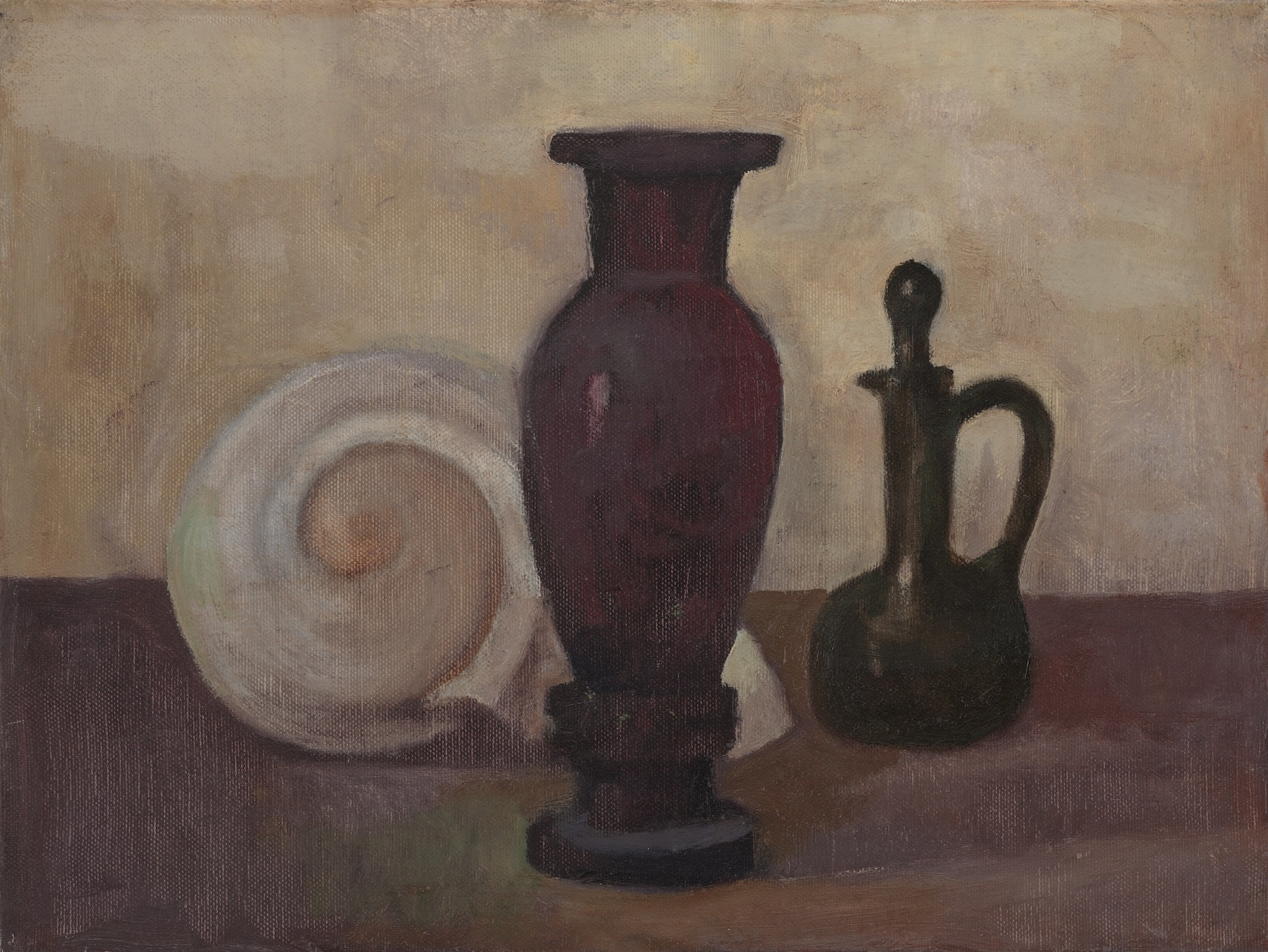 Still Life with Purple Vase