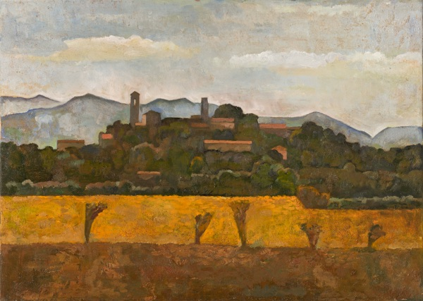 Yellow Fields before Monterchi